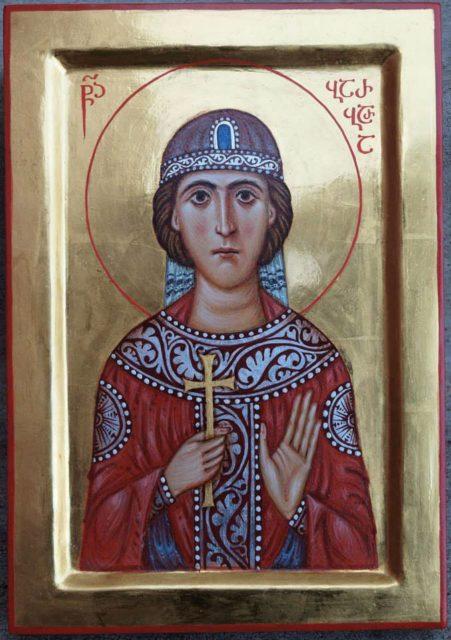 Св. Варвара. Автор о. Андрей Борода.